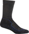 Icebreaker Hike + Med Crew Men Socks - Jet Heather/Planet/Black