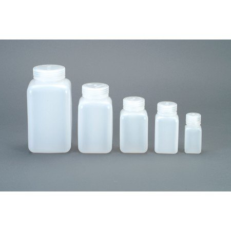 Nalgene Wide Mouth HDPE Square Container - 250ml