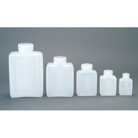 Nalgene Wide Mouth HDPE Rectangular Container - 125ml