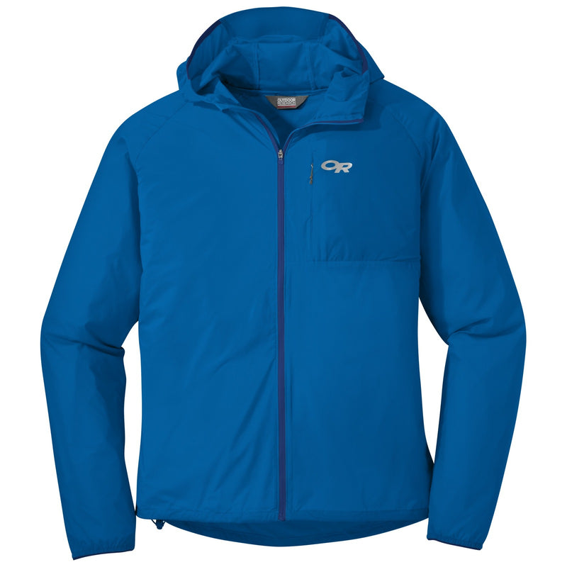 Outdoor Research Tantrum II Mens Hooded Jacket - Glacier/Baltic