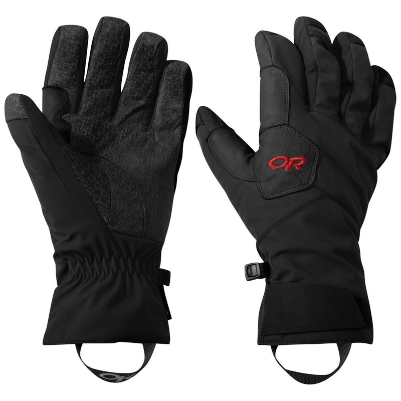 Outdoor Research BitterBlaze Gloves - Black/Tomato