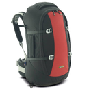 One Planet Endeavour Womens Travel Backpack - Black/Red