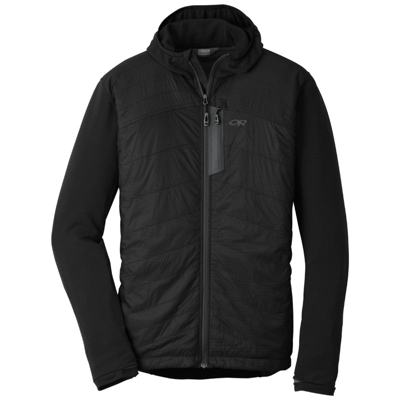 Outdoor Research Deviator Mens Hooded Jacket - Black/Charcoal