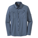 Outdoor Research Wayward Mens Long Sleeve - Steel Blue