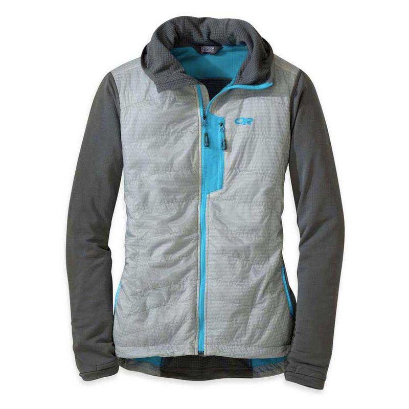 Outdoor Research Deviator Womens Hooded Jacket - Alloy/Pewter