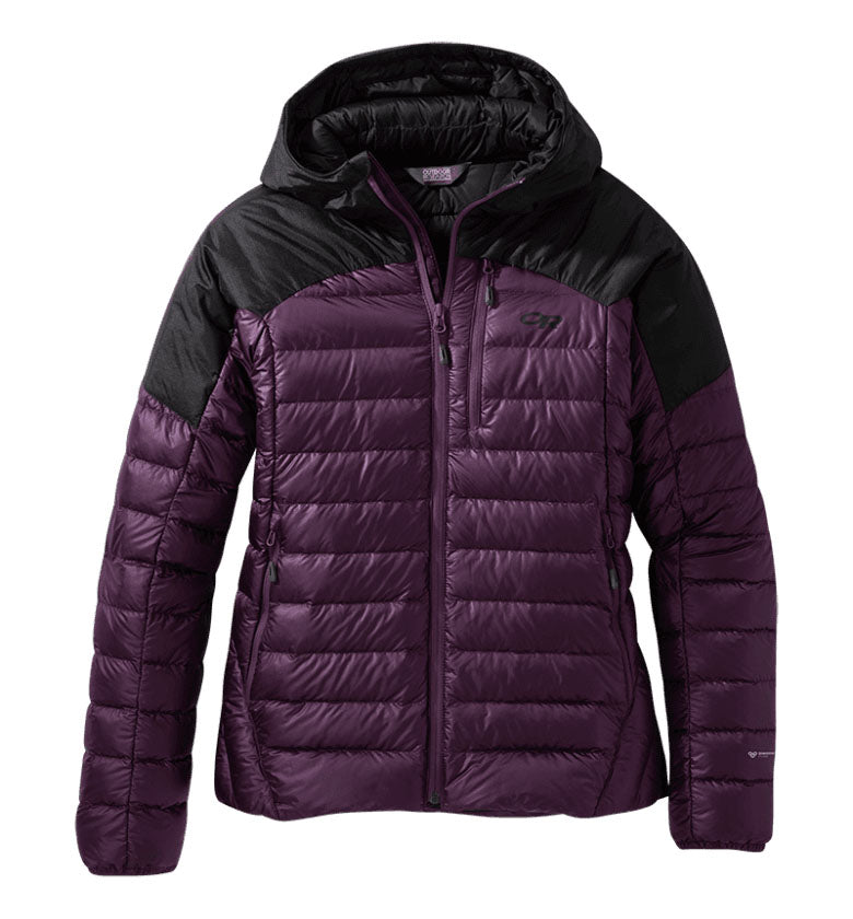 Outdoor Research Helium Down Hooded Womens Jacket