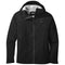 Outdoor Research Interstellar Mens Waterproof Hooded Jacket - Black/Charcoal