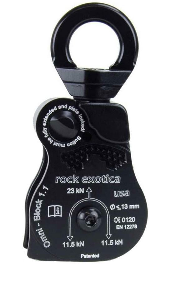 Rock Exotica Omni Block 1.1 Single Rope Pulley
