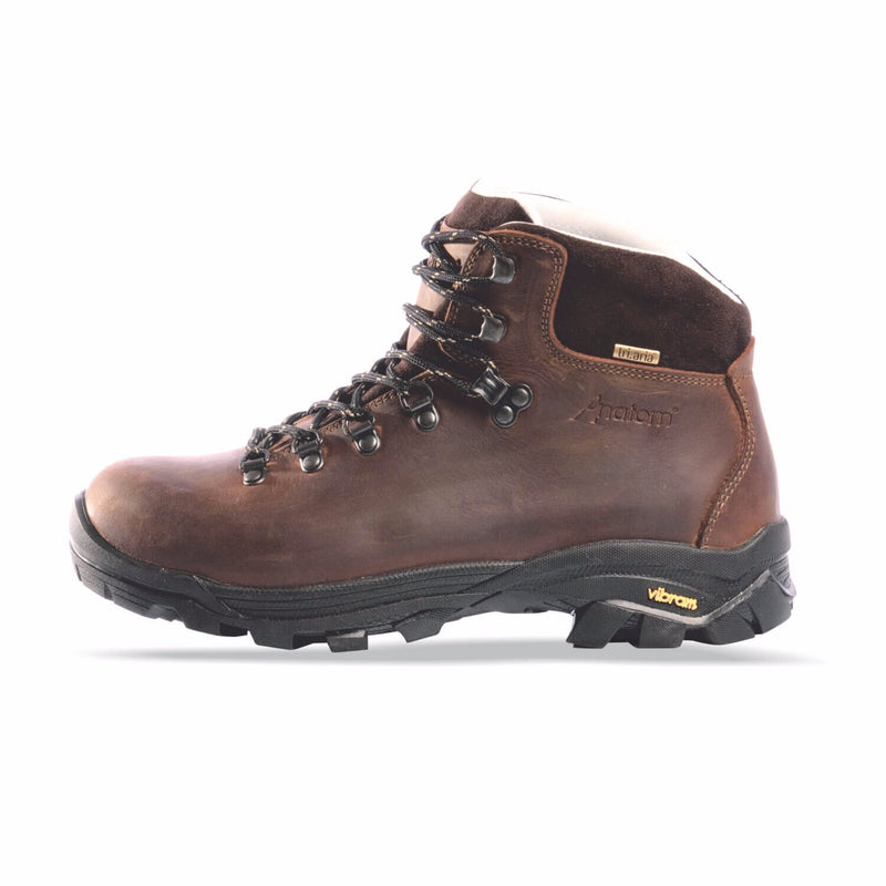 Anatom Q2 Classic Mens Hiking Boot - Brown Leather