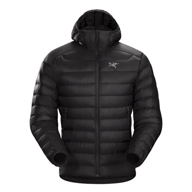 ArcTeryx Cerium LT Mens Down Hooded Jacket - Black