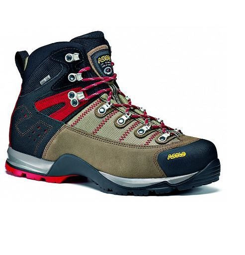 Asolo Fugitive GTX Wide Mens Hiking Boot - Wool/Black