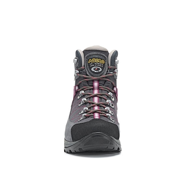 Asolo Finder GV Womens Hiking Boot - Grey/Gunmetal/Grapeade
