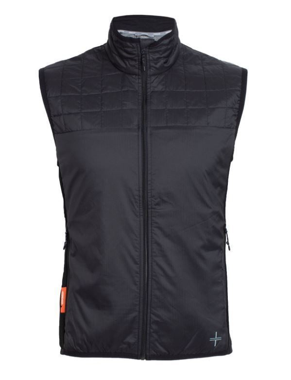 Icebreaker Helix Vest Mens Top - Black