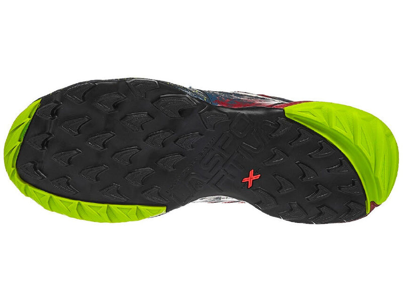 La Sportiva Akasha Mens Trail Running Shoe - Opal/Chili