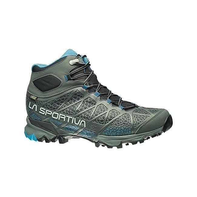 La Sportiva Core High GTX Mens Hiking Boot - Carbon Blue