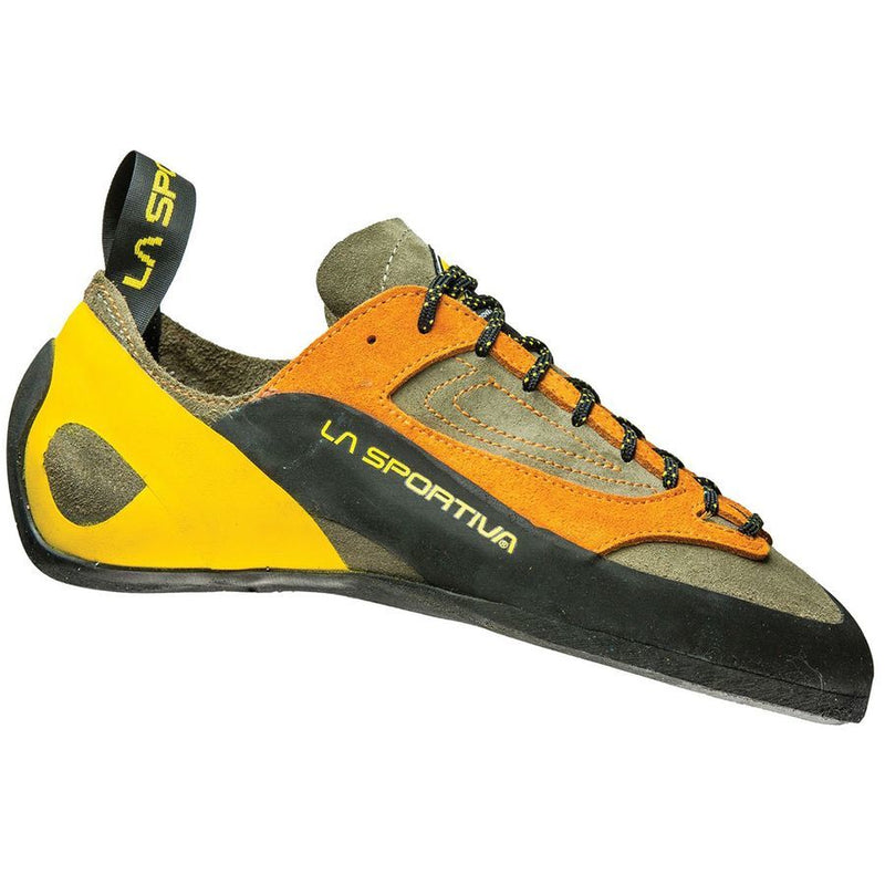 La Sportiva Finale Mens Climbing Shoe - Brown/Orange