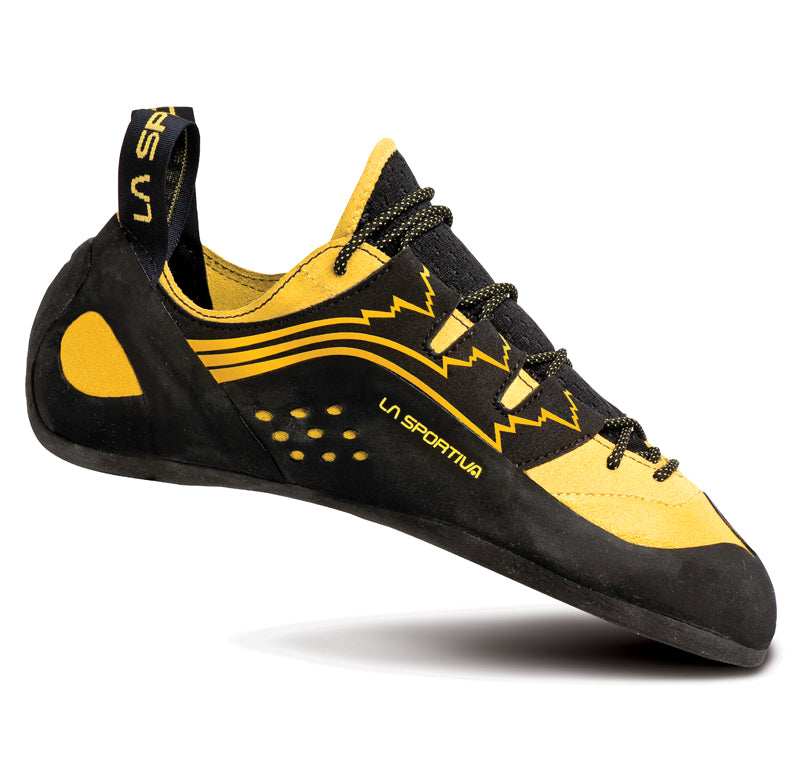 La Sportiva Katana Lace Mens Climbing Shoe - Yellow/Black