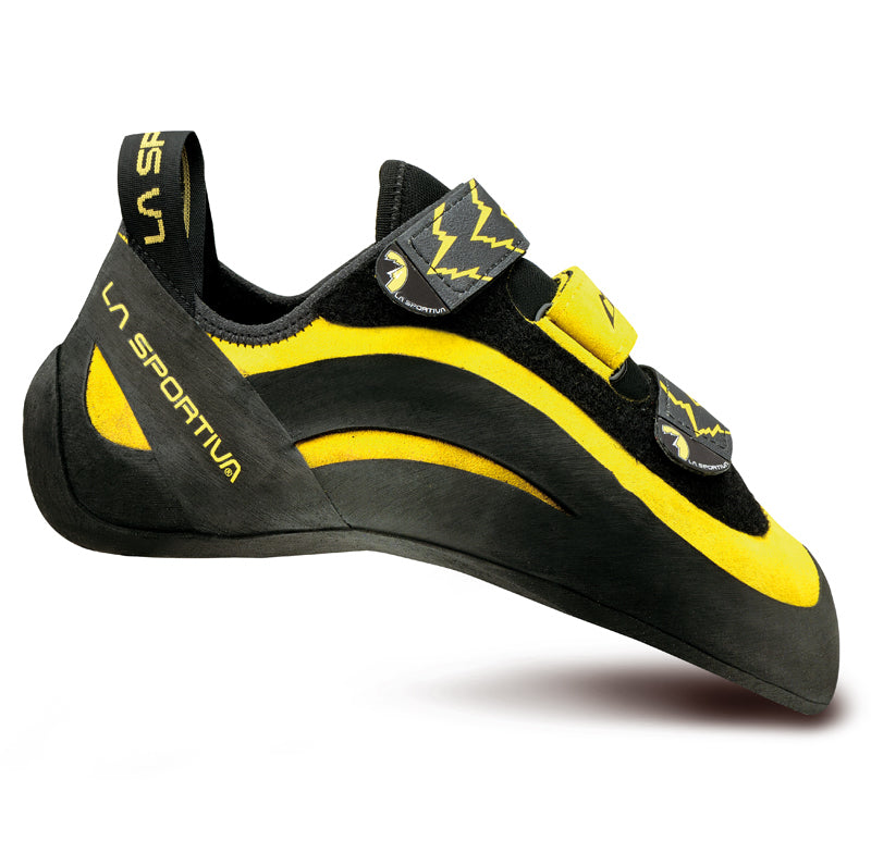 La Sportiva Miura VCR Mens Climbing Shoe - Yellow/Black