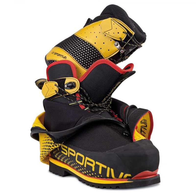 La Sportiva Olympus Mons EVO Mens Mountaineering Boot - Black/Yellow