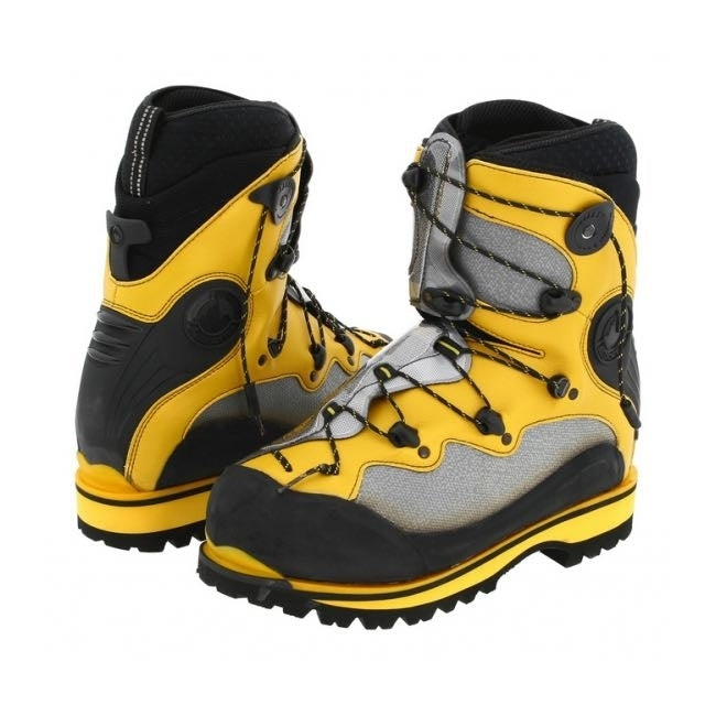 La Sportiva Spantik Mountaineering Boot - Grey/Yellow