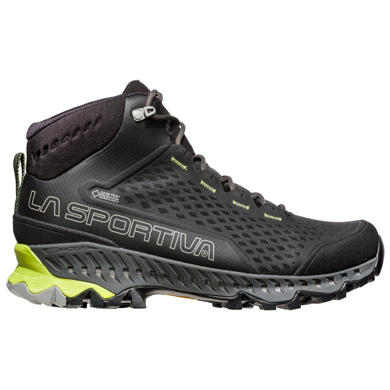 La Sportiva Stream GTX Mens Hiking Boot - Carbon/Apple Green