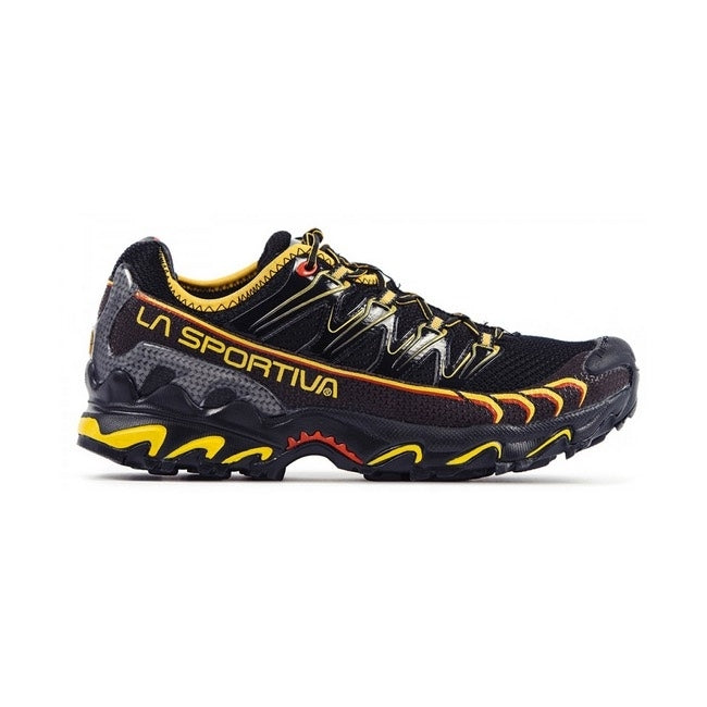 La Sportiva Ultra Raptor Mens Trail Running Shoe - Black/Yellow