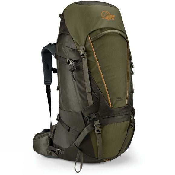 Lowe Alpine Diran 55-65 Litre Mens Hiking Pack