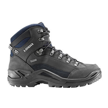 Lowa Renegade GTX MID Wide Mens Hiking Boot - Grey/Navy