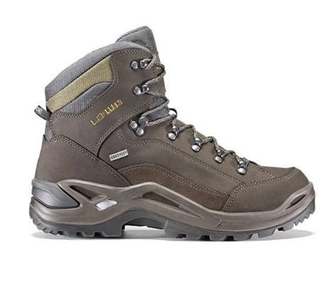 Lowa Renegade GTX MID Wide Mens Hiking Boot - Slate/Olive