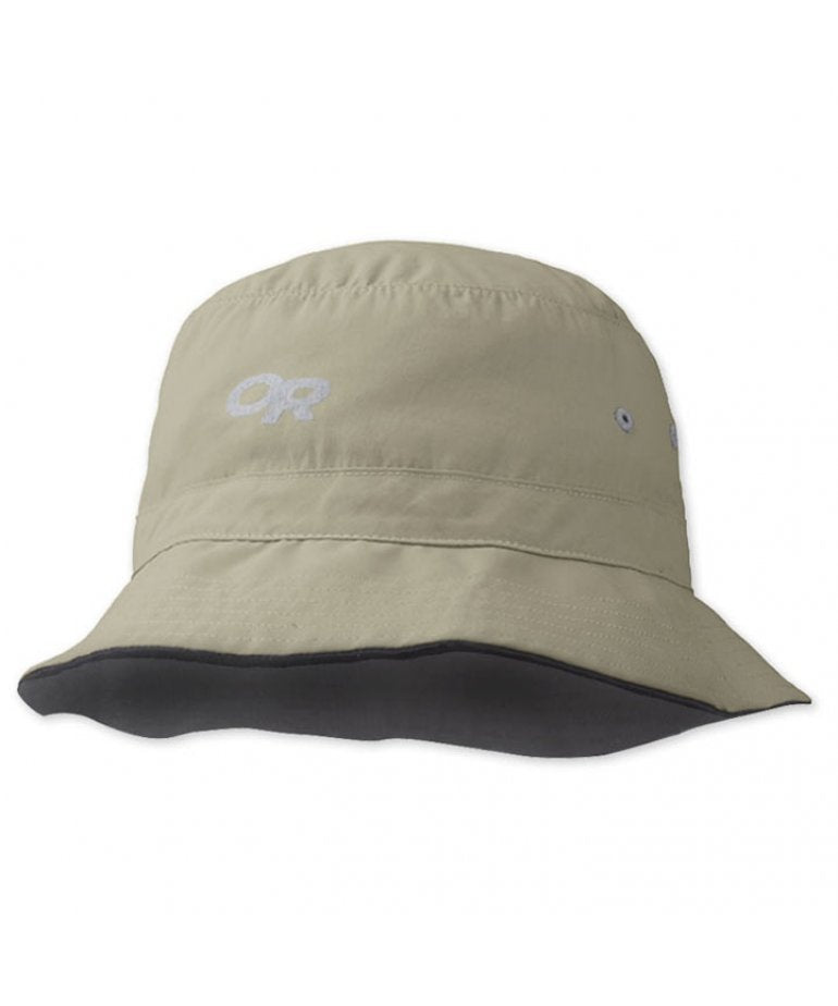 Outdoor Research Bug Protection Bucket Hat Headwear - Khaki