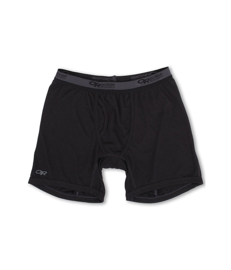 Outdoor Research Sequence Boxer Mens Briefs - Black