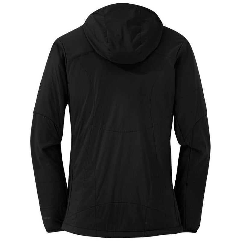 Outdoor Research Ascendant Womens Hooded Jacket - Black/Charcoal