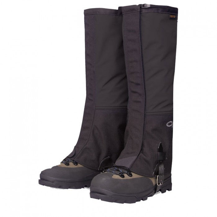 Outdoor Research Crocodile Womens Gaiters - Black