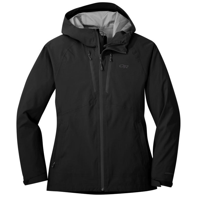 Outdoor Research MicroGravity AscentShell Womens Waterproof Hooded Jacket