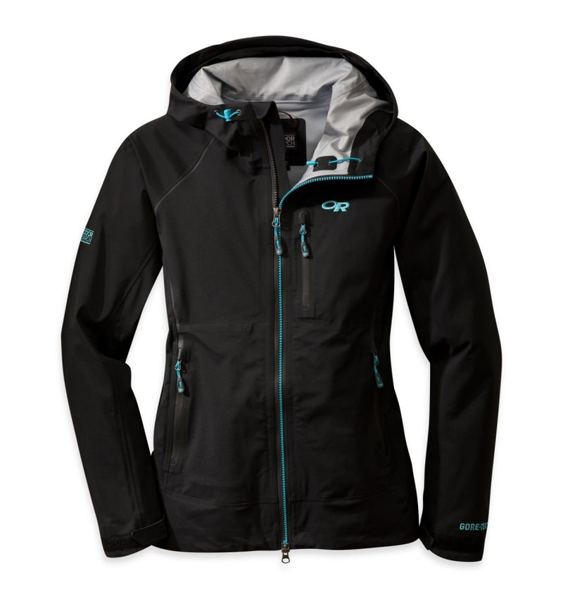 Outdoor Research Revelation Womens Jacket - Black/Rio
