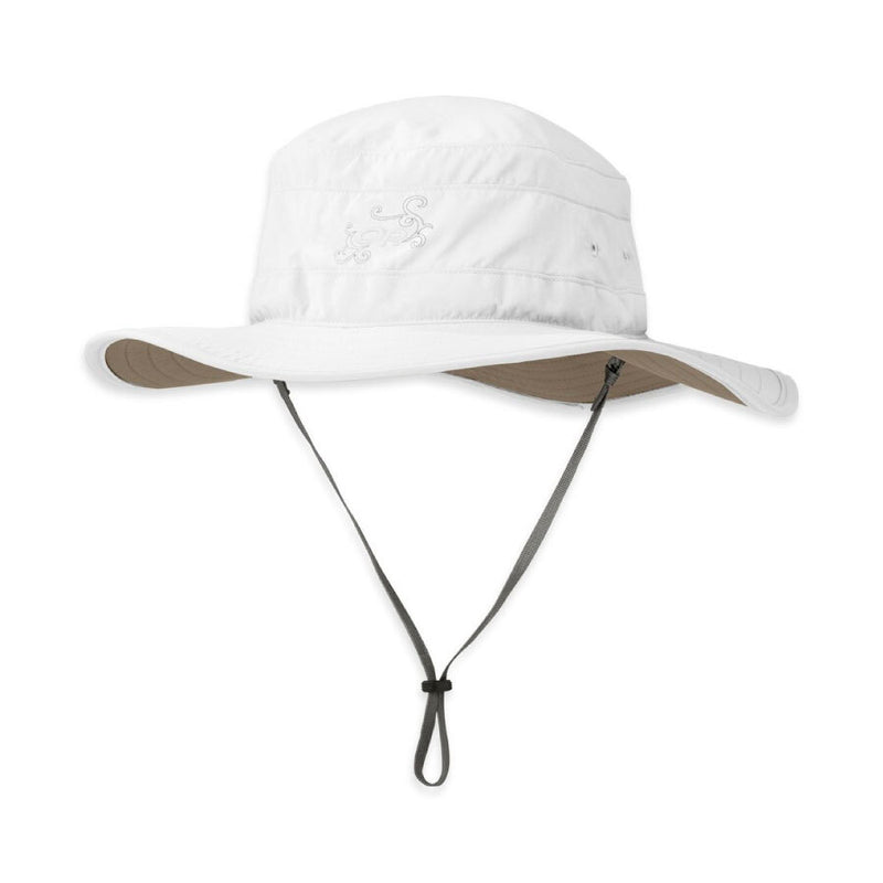 Outdoor Research Solar Roller Womens Sun Hat - White/Khaki