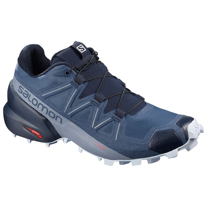 Salomon Speedcross 5 Womens Trail Running Shoe - Sargaso Sea/Navy Blazer/Heather