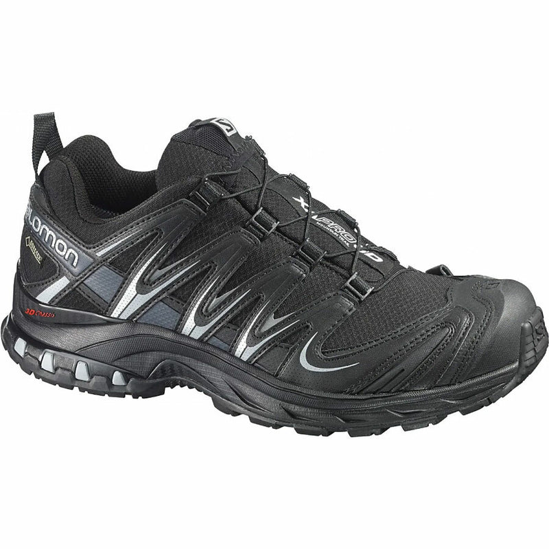 Salomon XA Pro 3D GTX Womens Trail Running Shoe - Black/Asphal/Light Onix