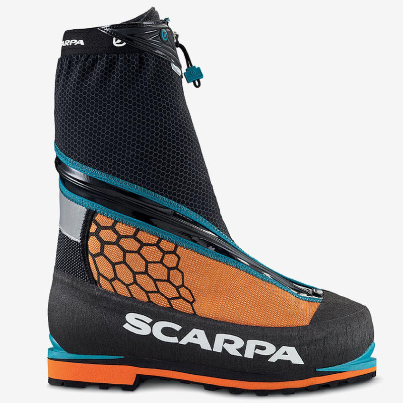 Scarpa Phantom 6000 Mountaineering Boot - Black Orange
