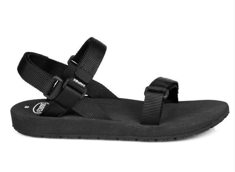 Source Classic Mens Hiking Sandal - Black
