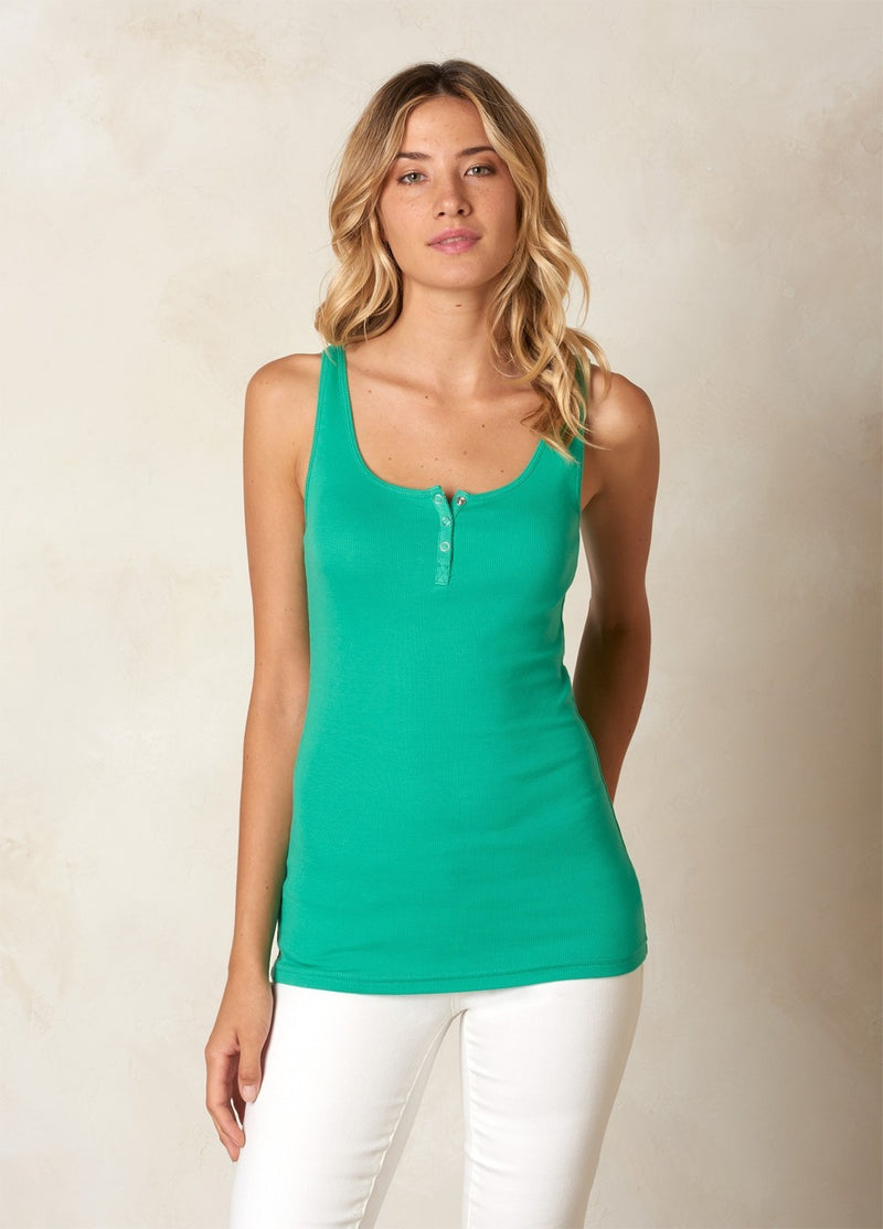 prAna Jane Womens Tank Top - Mint