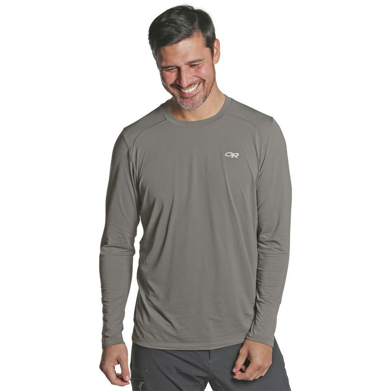 Outdoor Research Deception Mens Long Sleeve T-Shirt - Pewter