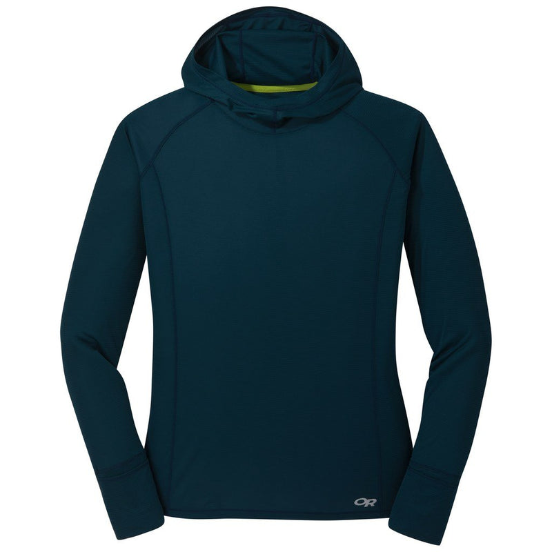 Outdoor Research Echo Womens Hooded Top - Prussian Blue