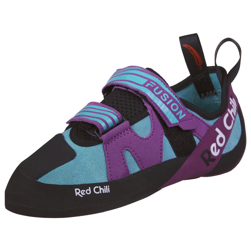 Red Chili Fusion Lady VCR Climbing Shoe - Turquoise/Purple