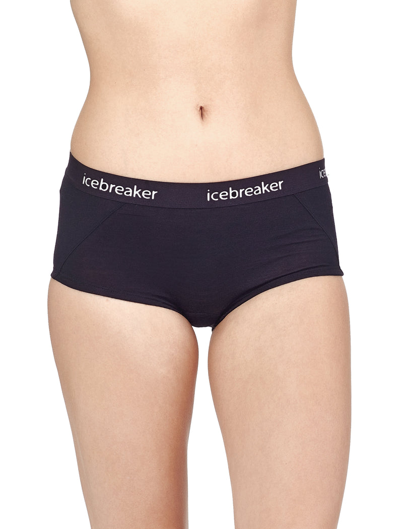 Icebreaker Sprite Womens Hot Pant - Black
