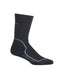 Icebreaker Hike + Heavy Crew Womens Socks - Jet Heather/Twister Heather/Black
