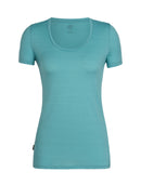 Icebreaker Tech Lite Short Sleeve Scoop Womens T-Shirt - Lance Largo