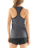 Icebreaker Amplify Racerback Tank Womens - Panther Heather/Cove