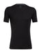 Icebreaker Anatomica Short Sleeve Mens Crewe Top - Black/Monsoon