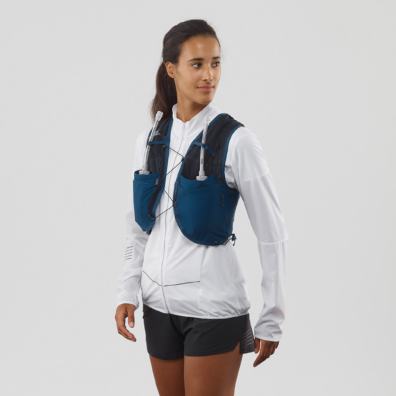 Salomon Adv Skin 8L Set Womens Running Vest - Poseidon